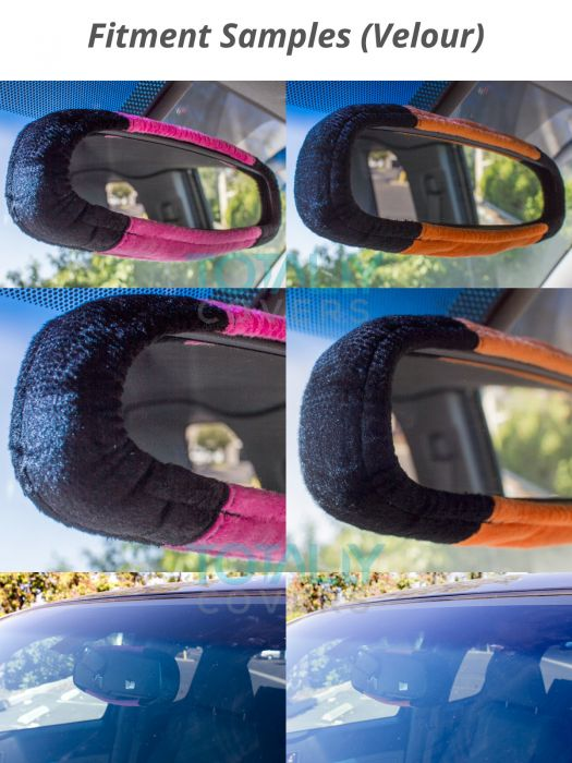 rear view mirror cover